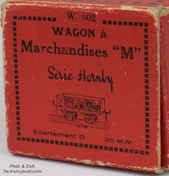Datation et Boîtes d'Origines? BO-Hornby-W-602